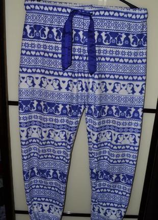 Штаны домашние пижамные пижама новая