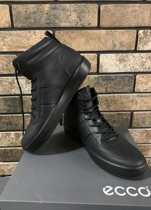 ... Ботинки кеды ecco soft 8 екко5 f7916519e3a4b