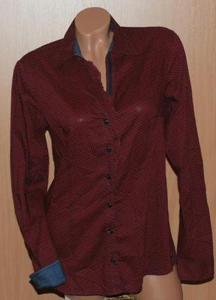 Рубашка женская бренда s.oliver/  100% хлопок/