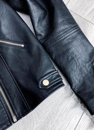 Косуха кожаная куртка river island  натуральная кожа