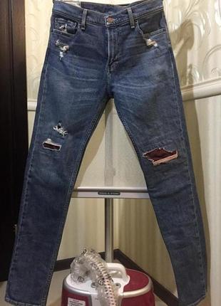 Рваные джинсы, hollister, размер w32