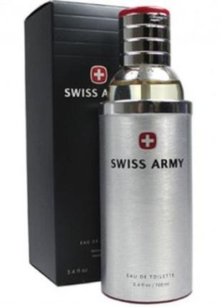 """Туалетная вода """"swiss army"""" 100ml сильный, мужественный, освежающий"""