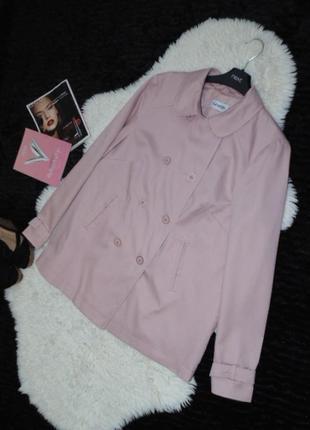 Hежный, розовый  жакетик 14 размера