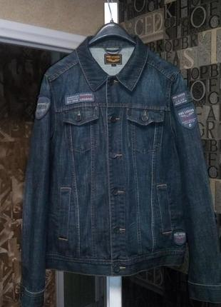 Милитари куртка джинсовая от pme pall mall legend джинсовка