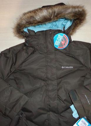 Новая зимняя куртка пуховик columbia lay d down omni-heat xxl 1x большой  размер 6194825458e2e