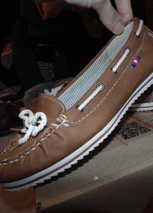 Туфли мокасины танкетка  graceland оригинал новые размер 37 по стельке 24 см