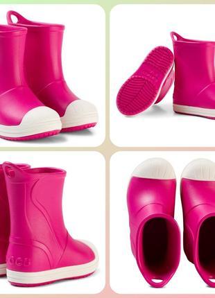 Резиновые crocs c13(30-31) bump it rain boot сапоги сапожки крокс