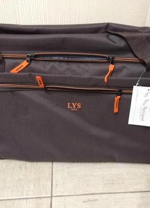 Дорожная сумка чемодан на 2 колесах вместительная