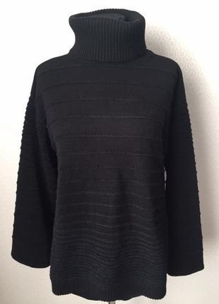 Оригинальный свитер с широким рукавом от премиального бренда marccain, разм 4
