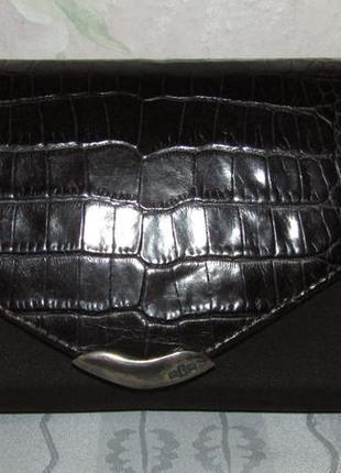 Стильная сумка 100 % кожа и текстиль - ralph lauren -