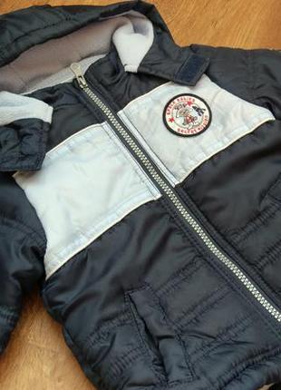 Новая демисезонная еврозима куртка okay на рост 74 см