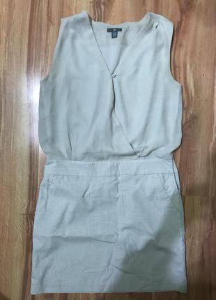 Лляна сукня gap