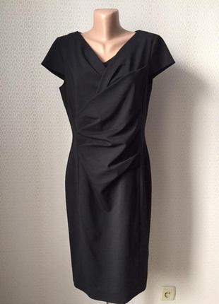 Шерстяное офисное очень красивое платье размер нем 38, укр 44-46, бренд st.emile