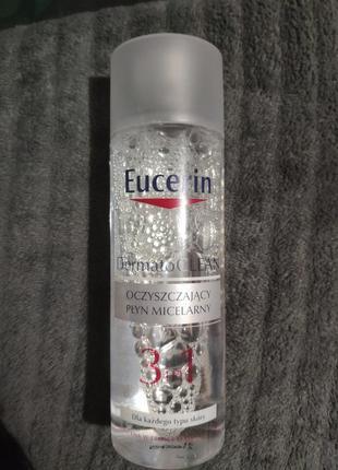 Мицелярная вода eucerin