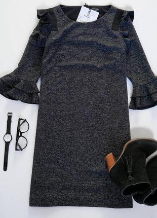 Платье а-силуэта comma