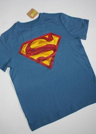 Футболка superman tee размер м 7-8 лет crazy8