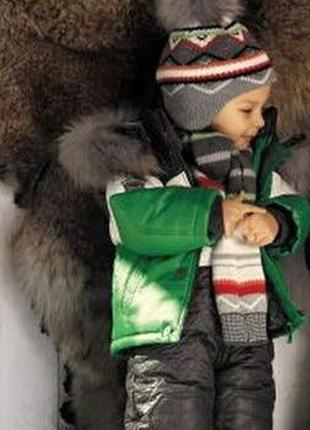 Зимний комбинезон и куртка на изософте wojcik серия nordic wind р.80 см  -супер b8e01d021a1c4