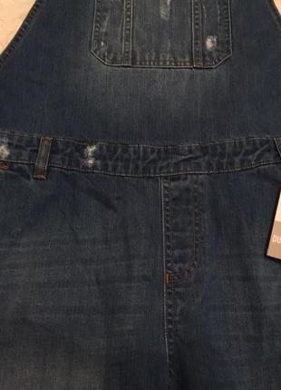 Крутой джинсовый комбинезон pep&co