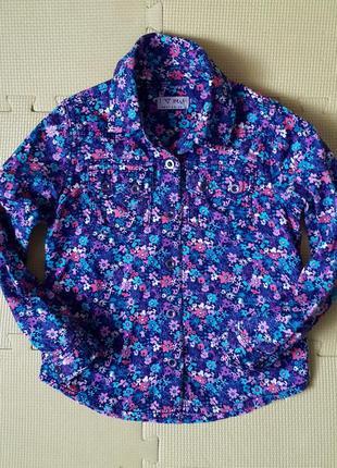 Рубашка блузка i love next 4-5 л.