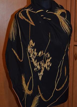 Роскошный шелковый платок, шаль fabric frontline zurich швейцария