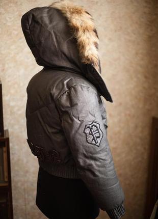 Куртка на пуху филипп плейн philipp plein