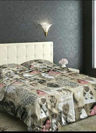 Очень красивый набор постельного белья, есть несколько размеров