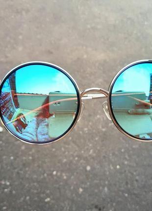 Стильные круглые очки