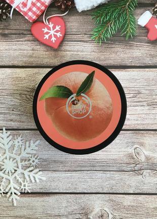 Баттер (крем) для тела the body shop vineyard peach (персик)
