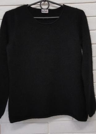 Черный кашемировый свитерок
