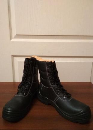 Мужские зимние высокие ботинки