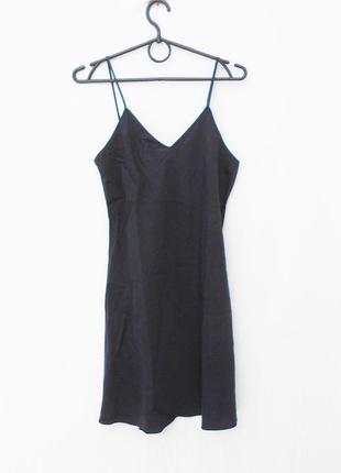 Шелковая ночнушка ночная сорочка рубашка для сна и дома