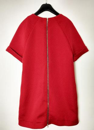 Теплое платье tago ( в наличии 2 цветов : красный / зеленый )