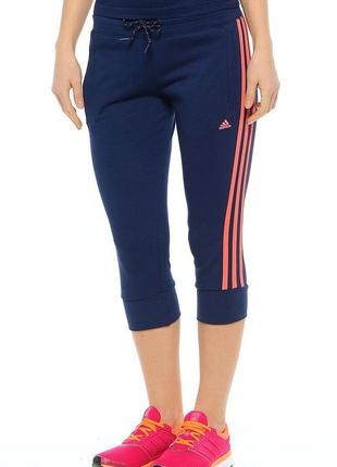 Оригинал капри бриджи спортивные фирма adidas р. s - м новые штаны