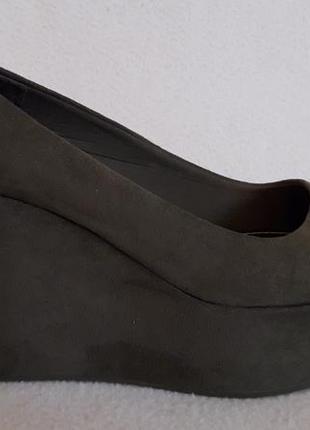Мега лёгкие туфли на платформе фирмы divided by h&m p. 39 стелька 25 см