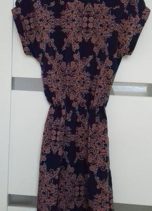 Легке літнє плаття/ легкое летнее платье кимоно