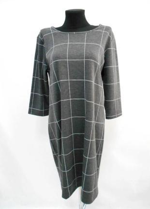 Платье серое esmara