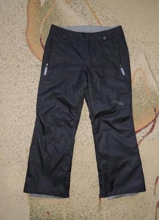 Фирменные теплые мембранные лыжные штаны burton dryride p.152-158