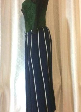 Яркая теплая  плиссированная юбка миди от golden gate!!!