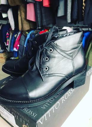 Кожаные ботинки vitto rossi