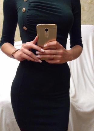 Платье morgan с длинным рукавом, s