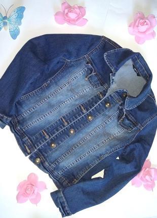Джинсовая куртка пиджак george