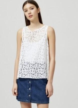 Гипюровая блуза femme selected