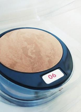 Тестер запеченная пудра pupa luminys baked face powder по супер низкой цене тон 06