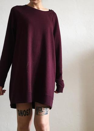 Толстовка/платье от h&m
