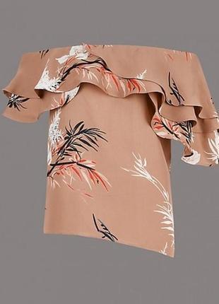 Шикарная блуза, топ autograph от m&s р.12