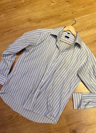Рубашка в полоску брендовая