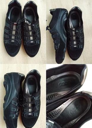 Кожаные кроссовки ecco a7cc91d6f9992