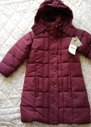 Пальто зимнее palomino, 110 размер