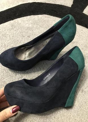 Туфли mermaid замш