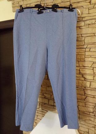 Sale!!!зауженные к низу брюки со стрелками плюс сайз,56-58 размер